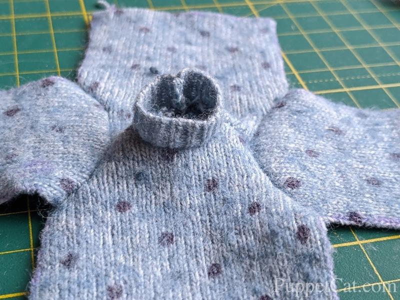 шьем свитер кукле Баболи