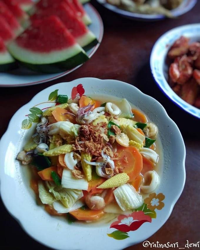 Resep Dapur Cah Sayur Seafood