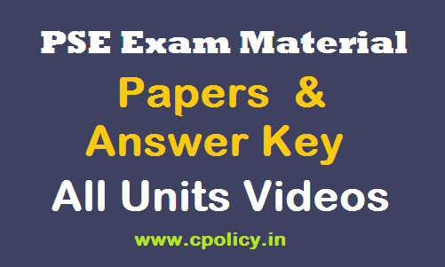 pse sse exam material paper video