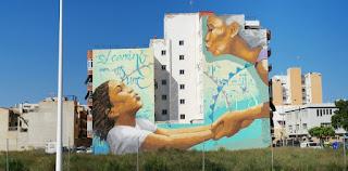 Ruta Urban Art de Sagunto y Puerto de Sagunto.