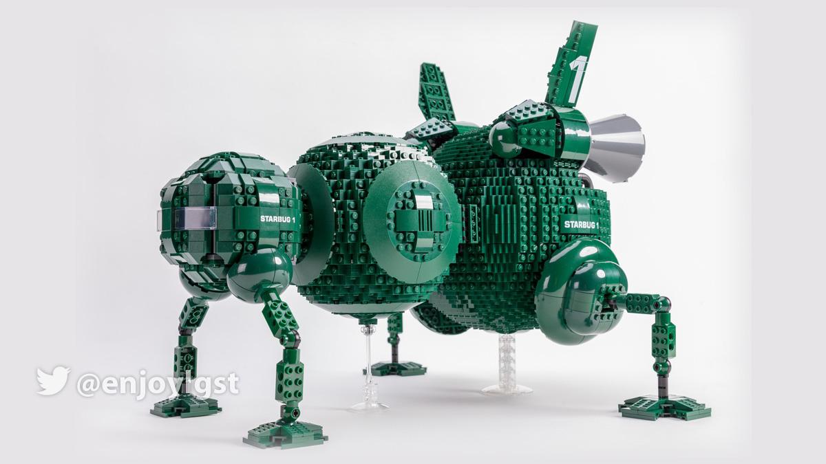 レゴアイデアで『宇宙船レッド・ドワーフ号のスターバグ』製品化レビュー進出!2020年第3回1万サポート獲得デザイン紹介