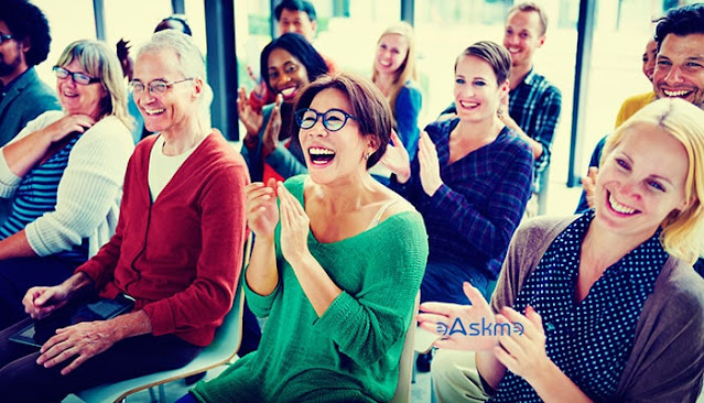 Mingle with your audience:5 Smart Ways to Use Social Media to Grow Your Business: eAskme