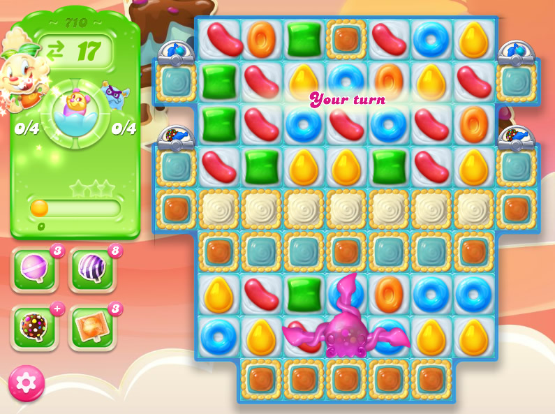 Candy Crush Jelly Saga level 710