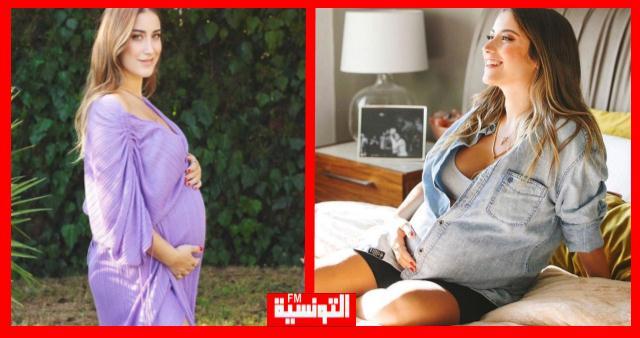 أولى صور الممثلة التركية هازل كايا بعد الولادة