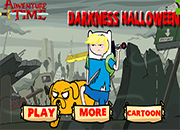 Adventure Time Darkness Halloween
