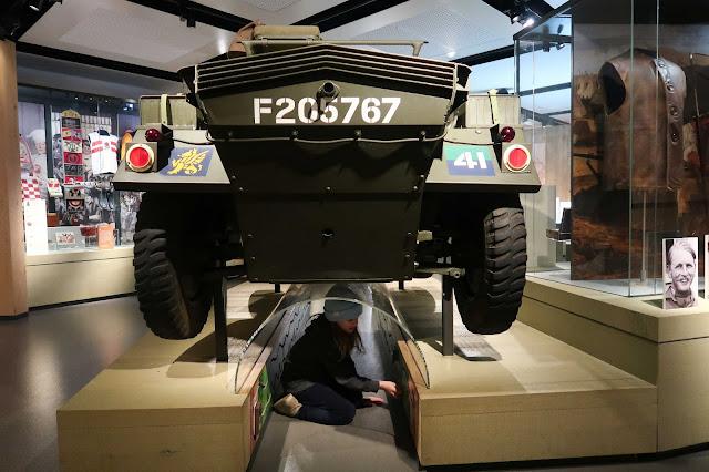 Army museum tank