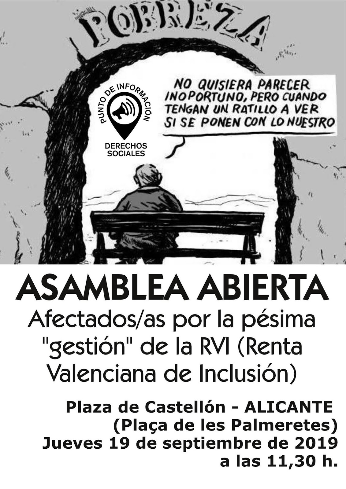 Cartel convocatoria