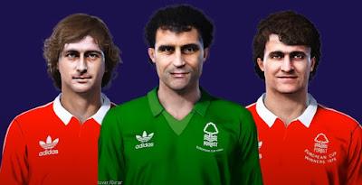 PES 2021 Faces Nottingham Forest 1979 by MictlanTheGod