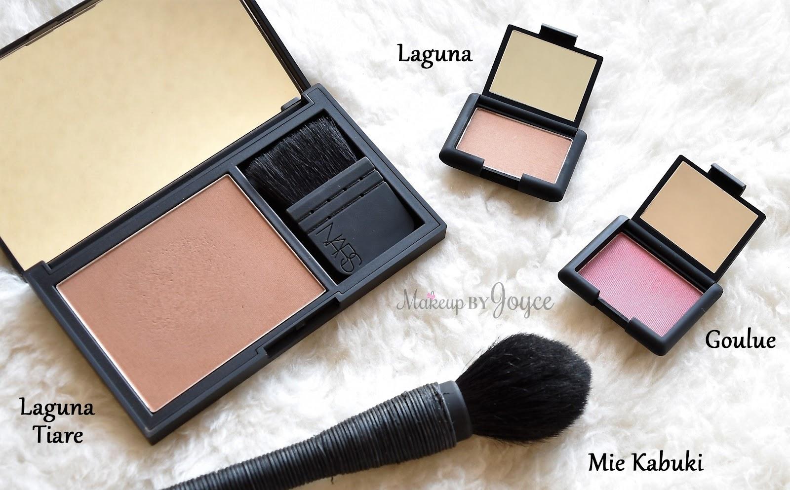 MakeupByJoyce ** !: Swatches + Review: NARS Laguna Tiare ...