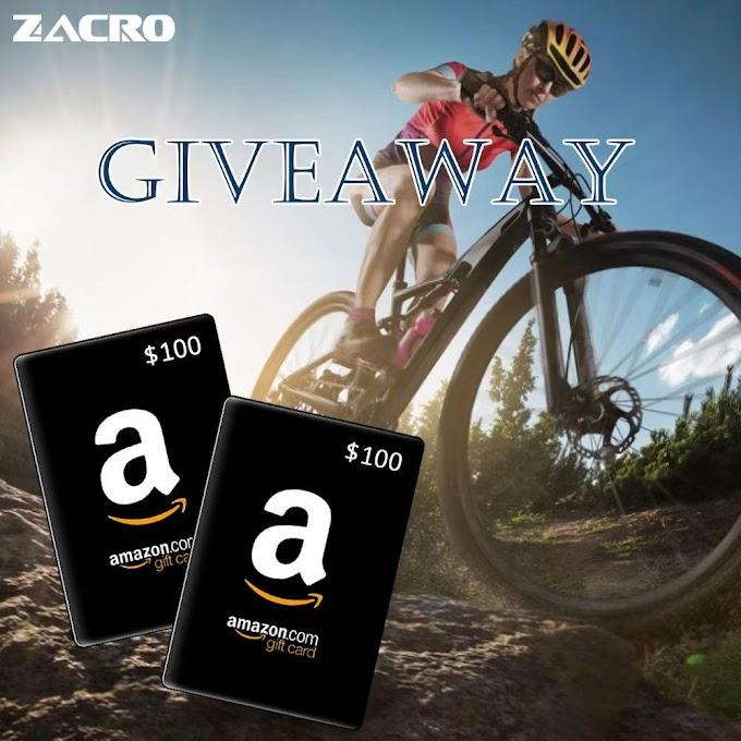 Sorteio Gift Card de $ 100 da Amazon