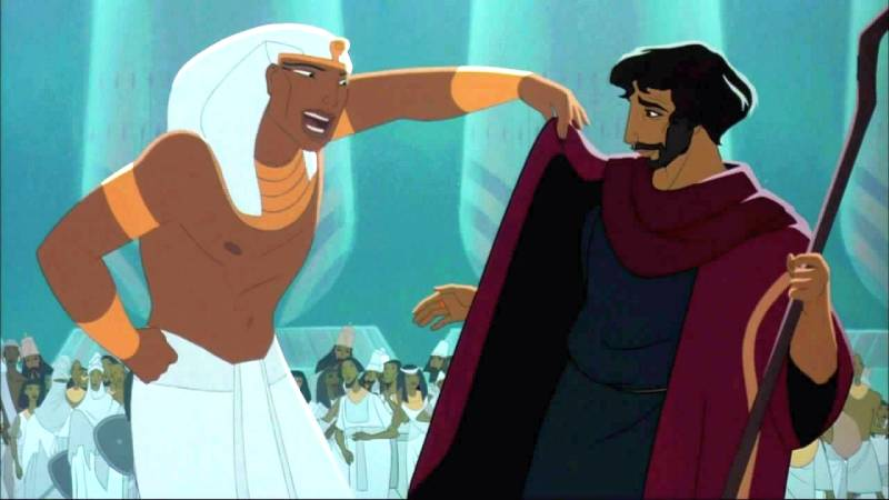 prince of egypt moses and rameses relationship trust