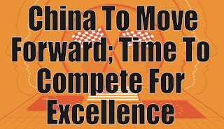 The Future Is Built On Intelligence, China To Move Forward; Time To Compete For Excellence