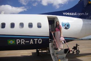 Primeira viagem de avião