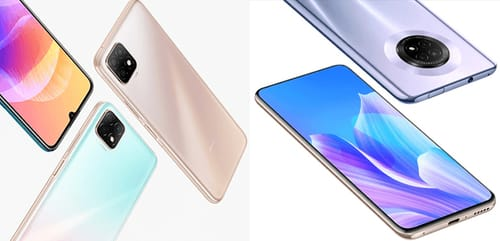 Huawei officially announced the launch of two new phones: Enjoy 20 5G and Enjoy 20 Plus 5G