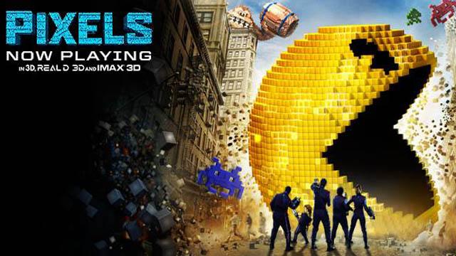 Pixels (2015) English Movie 720p BluRay Download