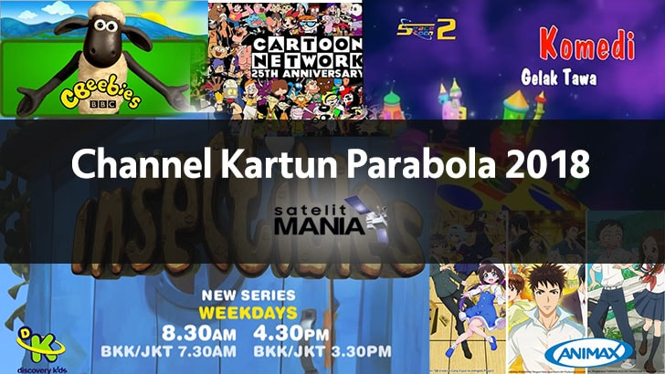 Channel Kartun Parabola 2018