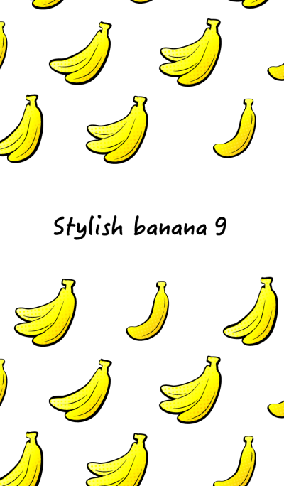 Stylish banana 9!