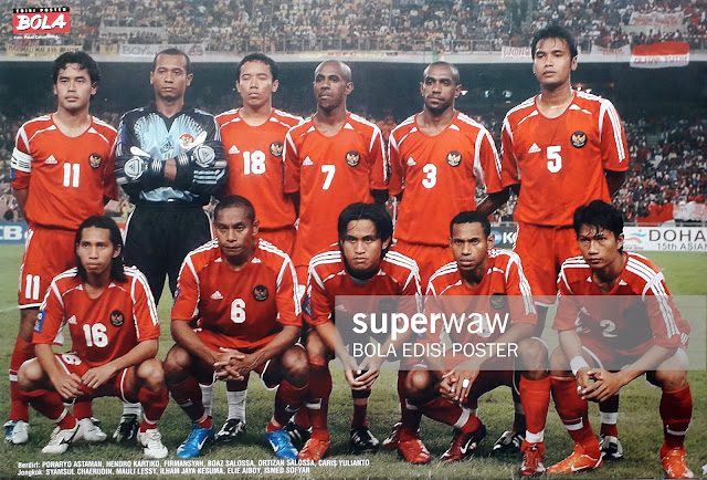 POSTER TIM NASIONAL INDONESIA 2004