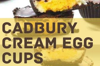 Cadbury Cream Egg Cups