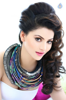 Urvashi Rautela With Her Brown Curly Hairs