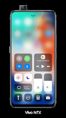 محاكاة واجهة مستخدم iPhone لهواتف الاندرويد, تطبيق Launcher iOS 13
