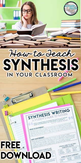 Synthesis Writing in the English Classroom