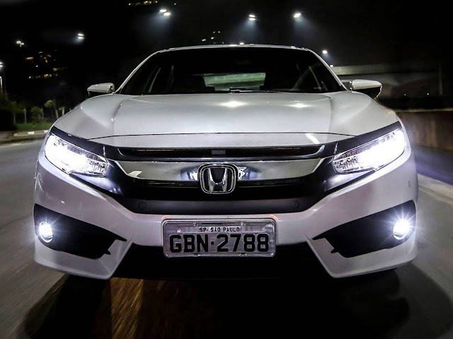 Novo Honda Civic 10 - 2017