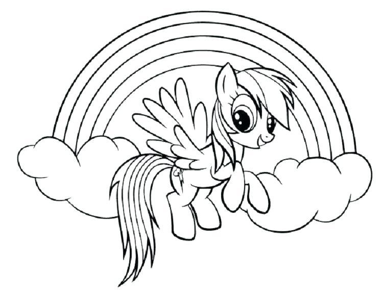 Gambar Kuda Poni Untuk Mewarnai