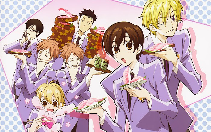 Ouran high school host club anime