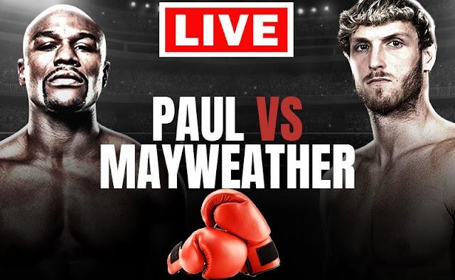 EN VIVO   Floyd Mayweather vs Logan Paul   Boxeo, Apuestas, Horarios   ¿Dónde VER GRATIS AQUÍ el combate online Tv en internet EN DIRECTO?