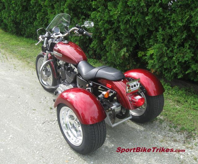 '09 H-D 1200 Sportster Trike Conversion Kit Custom