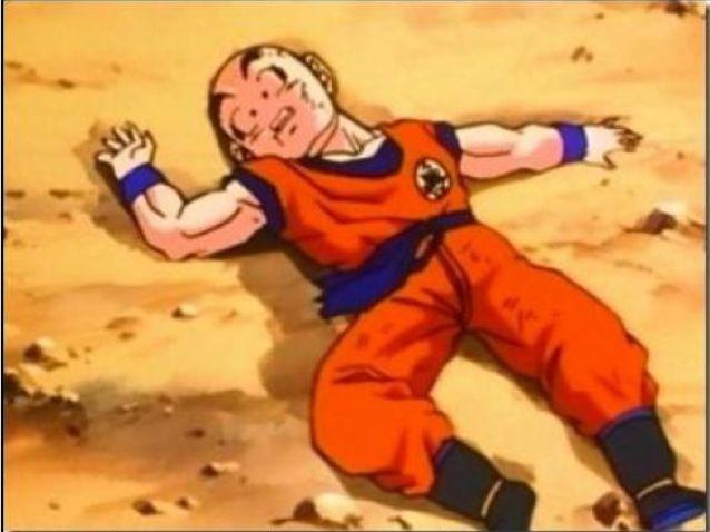 Quantas vezes Kuririn morreu ?