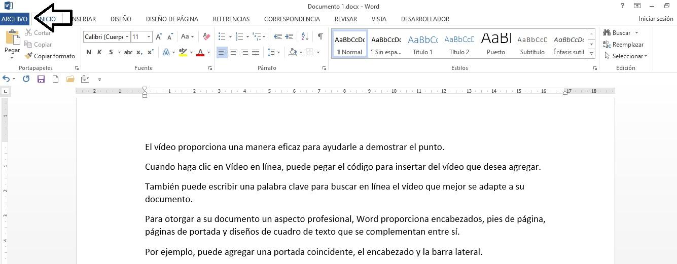 Cómo poner contraseña a un documento de Word