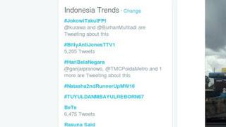 twitter Tending tropic #JokowiTakutFPI