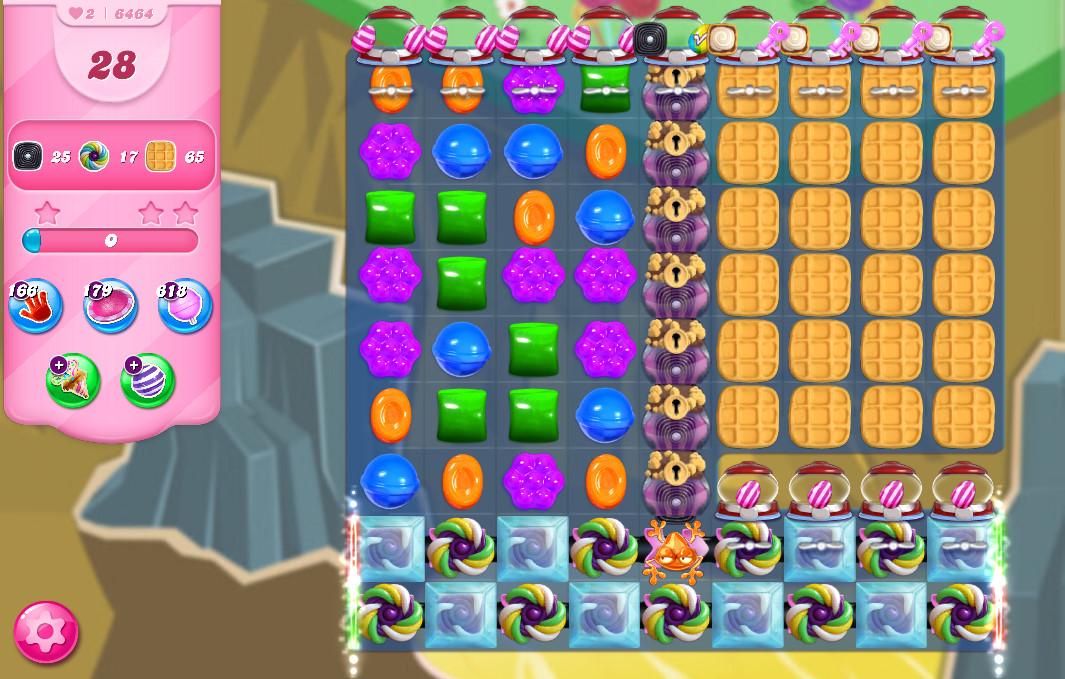 Candy Crush Saga level 6464