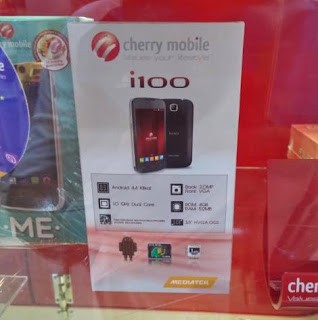 Cherry Mobile i100 Now Available for Php1,799