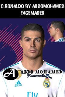 PES 2018 Cristiano Ronaldo Face For PES 2017