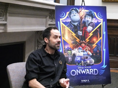 Onward s story head Kelsey Mann really loves his job at Pixar