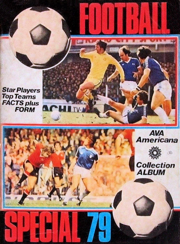 ASTON VILLA AVA AMERICANA-FOOTBALL SPECIAL 79-#025 ANDY GRAY