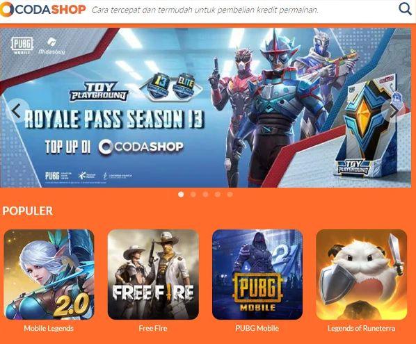 Situs Top Up Game Online Termurah