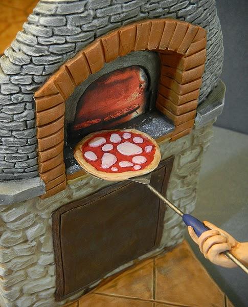statuette presepio personalizzate forno pizza statuine realistiche orme magiche