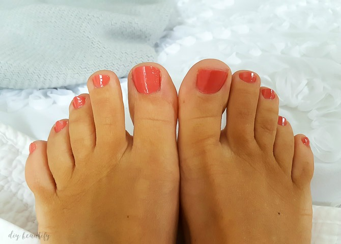 Sharing 5 steps to the ultimate at-home pedi, and other ways to indulge and relax when you find yourself alone for the evening!