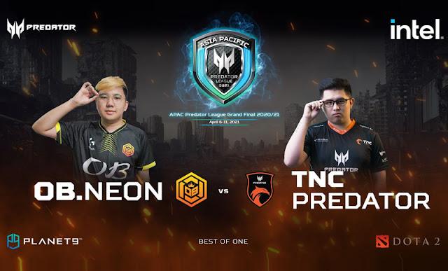 TNC vs NEON Predator Gaming Gizmo Manila
