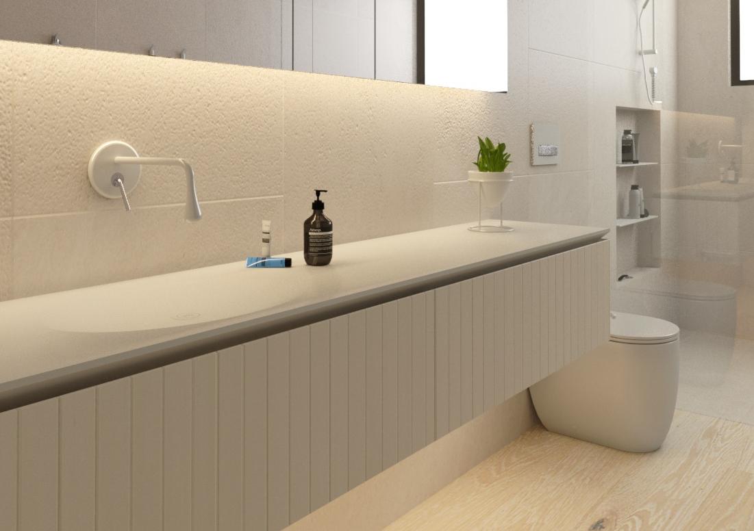 Minosa: Bathroom Design - Less is More