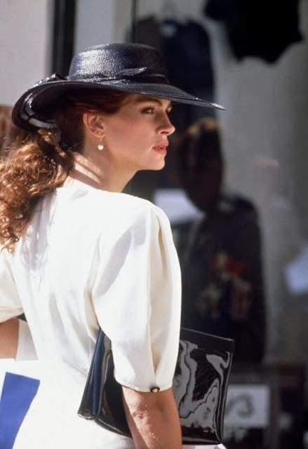 Uma linda mulher figurinos do filme