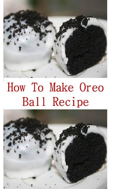 How To Make Oreo Ball Recipe #howtomake #oreo #oreoball #oreoballrecipe