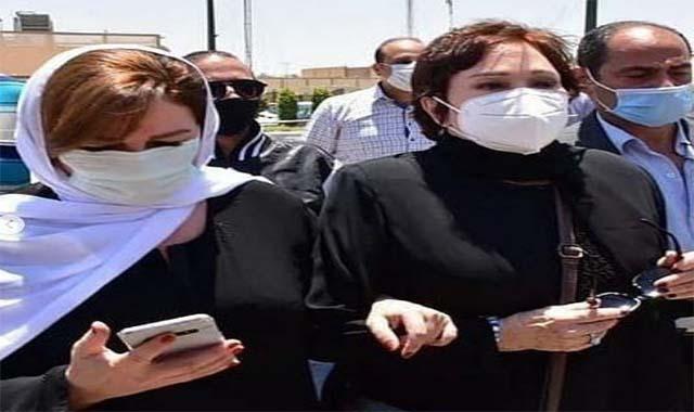 رد يسرا على الهجوم عليها بسبب رقصها في حفل زفاف بعد ساعات من وفاة سمير غانم
