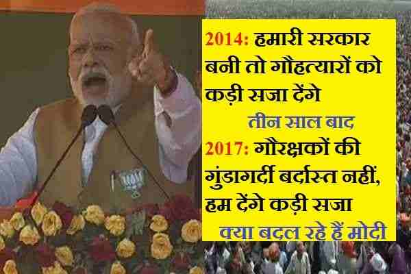 modi-changing-himself-from-Hinduism-to-secularism-on-cow-issue
