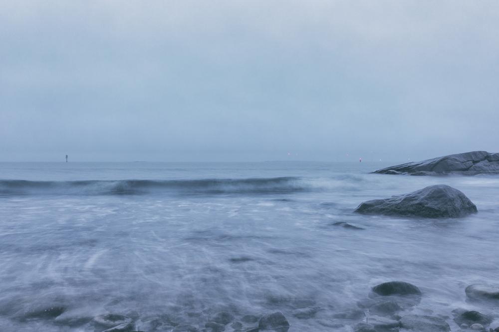 Kallo, Meri Pori, Pori, Finland, Our Finland, visitfinland, sea, meri, kallioranta, kallio, rocks, long exposure, valokuvaaja, Frida Steiner, Visualaddict
