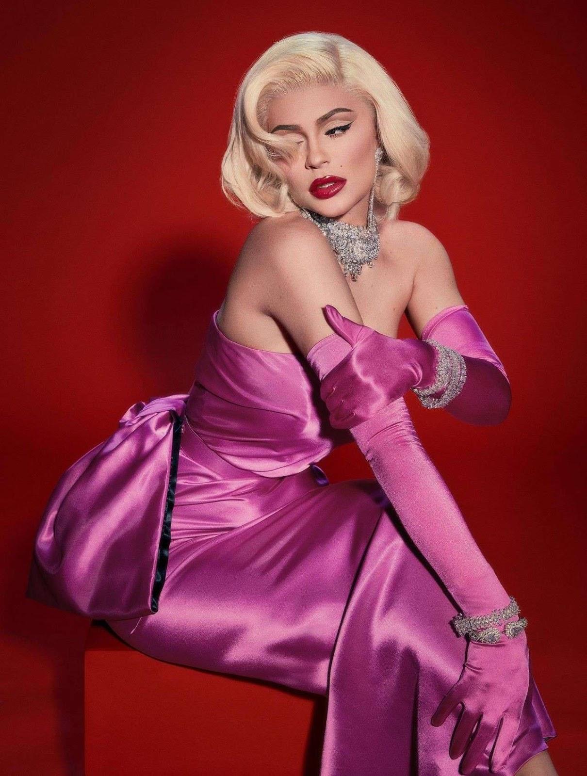 Kylie Jenner Marilyn Monroe Photoshoot